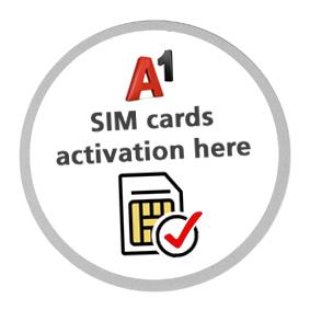 Activate A1 SIM
