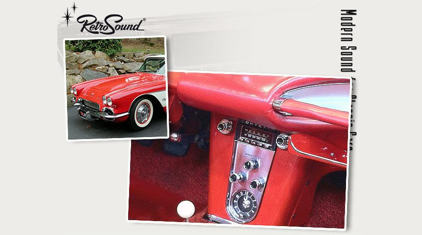 chevrolet corvette c1 1953 62 oldtimer radios von. Black Bedroom Furniture Sets. Home Design Ideas