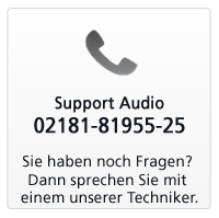 TELEFON SUPPORT AUDIO