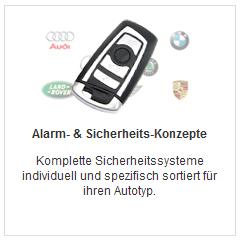 Alarmkonzepte nach Autotyp