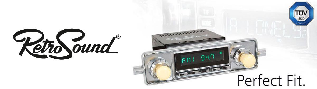 Autoradio Module von RetroSound