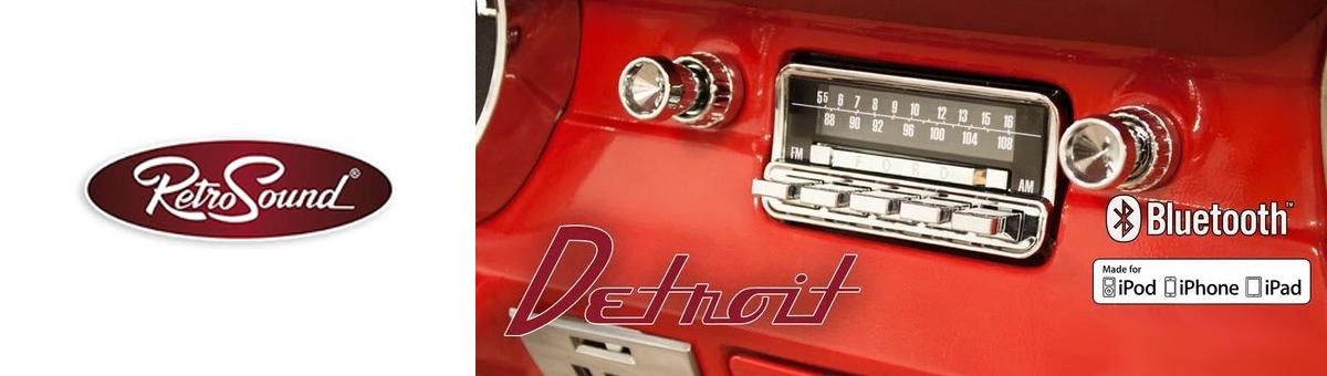 RetroSound Model Detroit