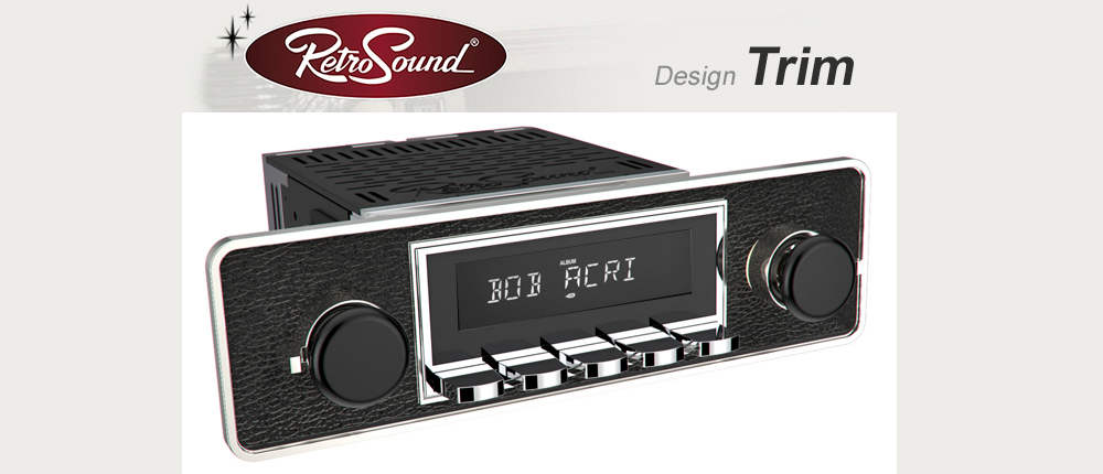 RetroSound car radio complete kit